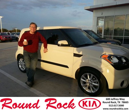 Thank you to Richard Williamson on your new 2013 #Kia #Soul from Fidel Martinez and everyone at Round Rock Kia! #NewCar by RoundRockKia