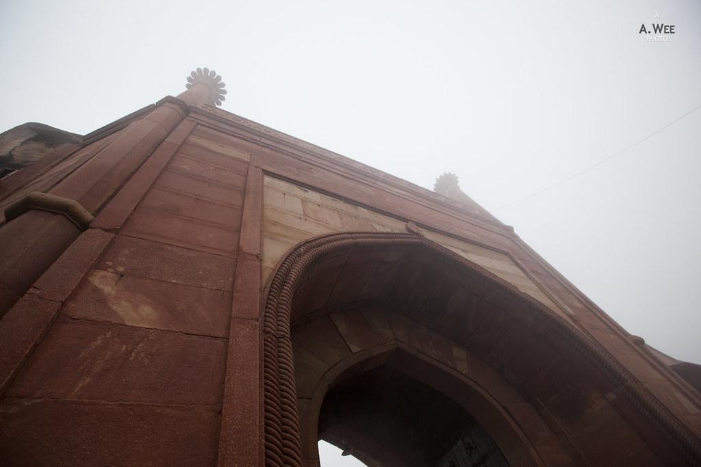 West Entrance of the Taj Mahal