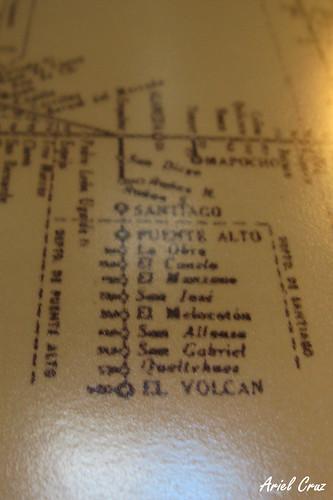 Ferrocarril Cajón del Maipo - Día del Patrimonio 2013