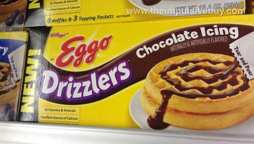 Kellogg's Eggo Drizzlers Chocolate Icing