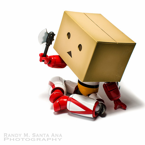 Danbo Getter Easier To Hold Stuff.