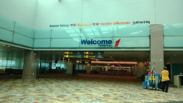 Terminal 1 Changi