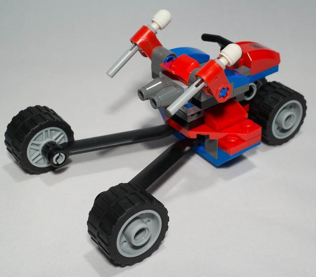 REVIEW LEGO 76014Spiderman - Spider-Trike vs Electro