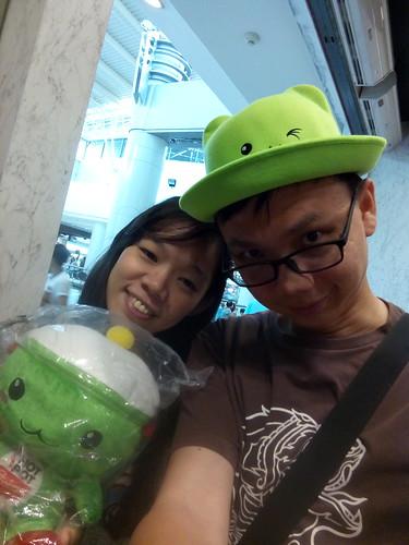 หมวกน่ารัก ตุ๊กตาน้องพอทจังอีก