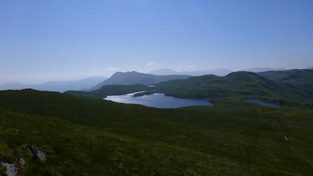 Llyn Conglog, Cnicht, Moel Hebog, Nantlle Ridge