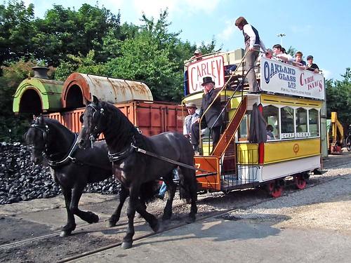 Leeds Horse tram 107 #