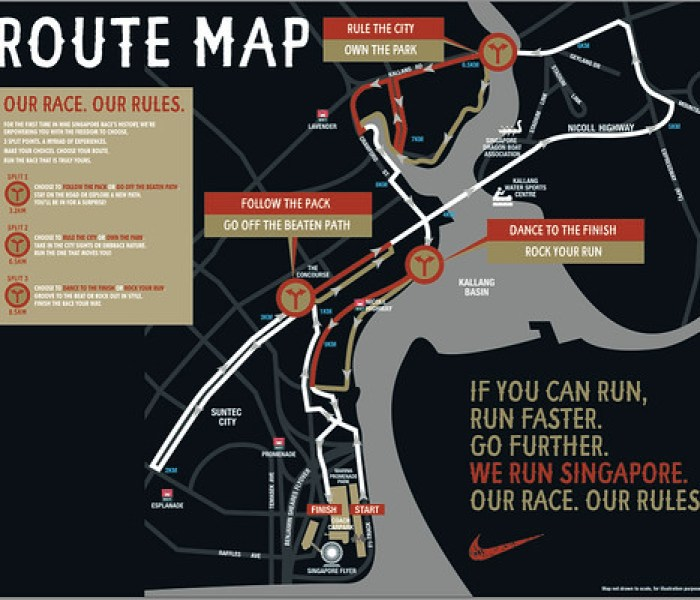 We Run SG Race Route
