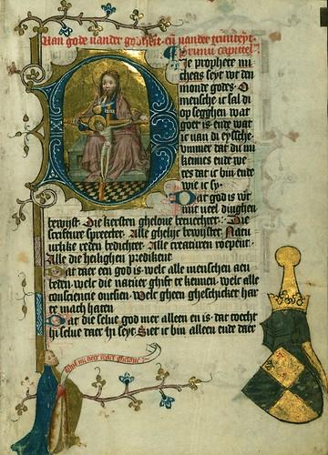 021-Fol 1r-W.171, DUKE ALBRECHT'S TABLE OF CHRISTIAN FAITH (WINTER PART)-1400-The Digital Walters
