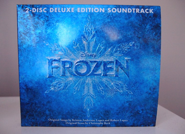 Frozen Deluxe soundtrack - Disnerd dreams