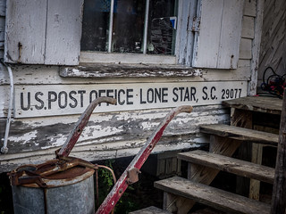 Lone Star Post Office Sign