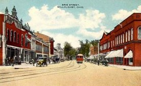 1930 Erie north from square