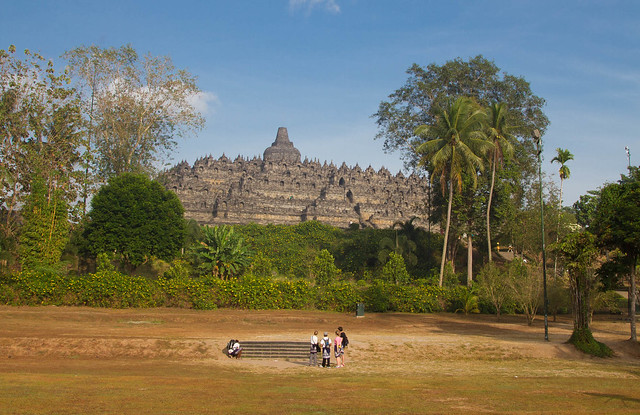 Borobudur from a Distance