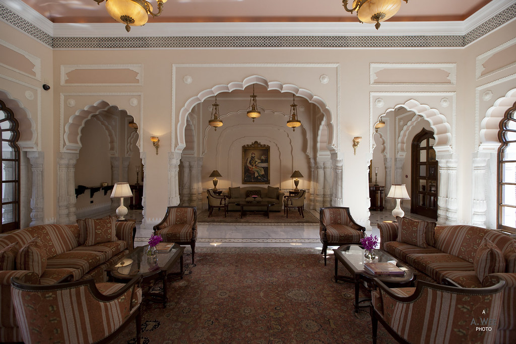 Rambagh Palace Lobby