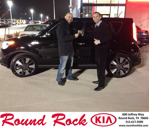 Thank you to Brian Lee on your new 2014 #Kia #Soul from Jorge Benavides and everyone at Round Rock Kia! #NewCarSmell by RoundRockKia