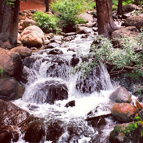 #waterfall near Idaho Springs #colorado by @MySoDotCom