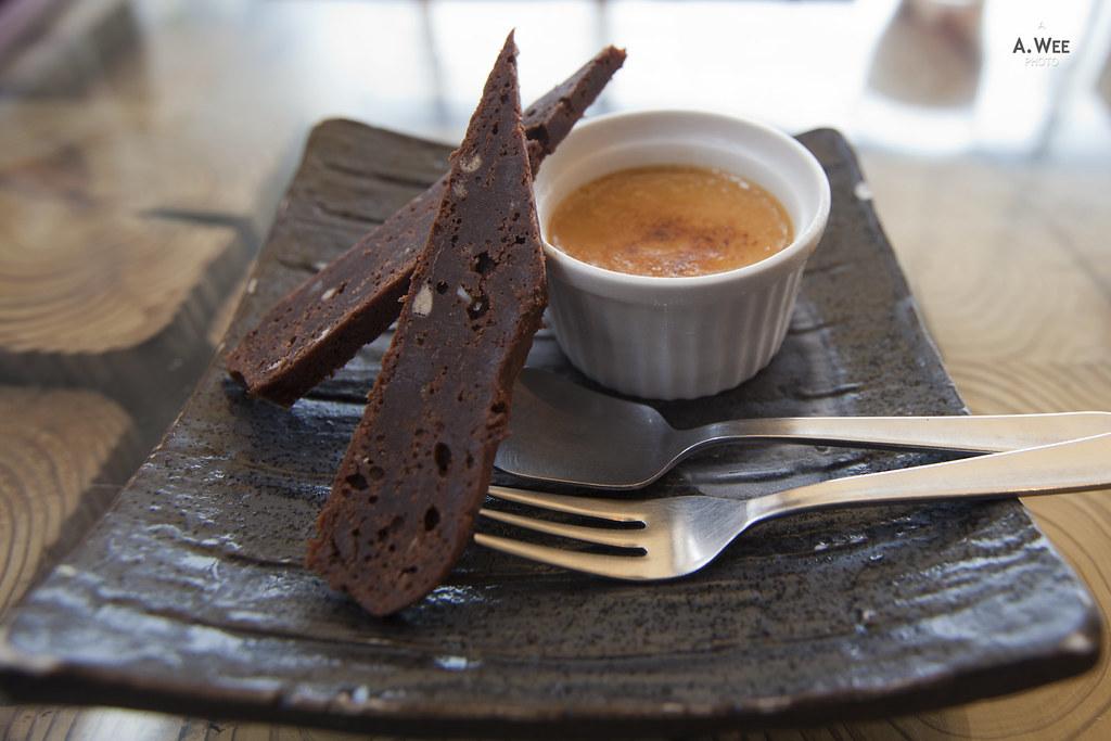 Kuromitsu Crème brûlée