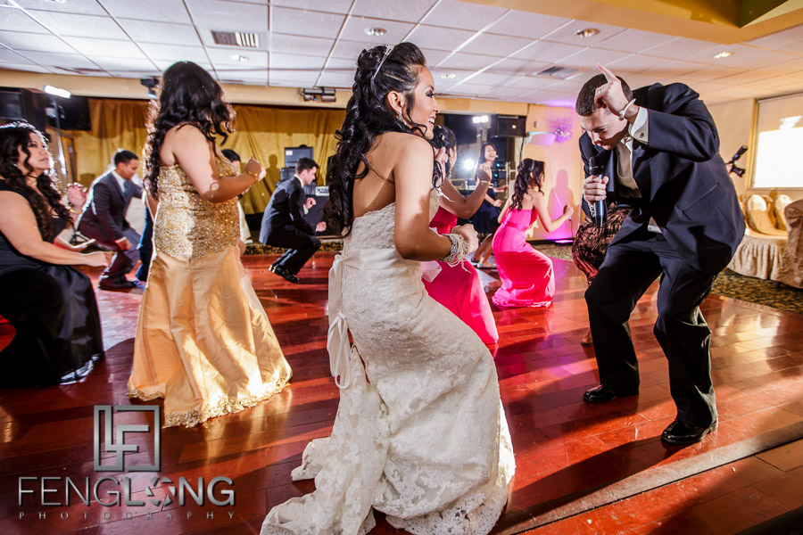 Cambodian bride and American groom's first dance becomes choreographed routine