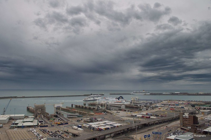 Surreal skies over Dover