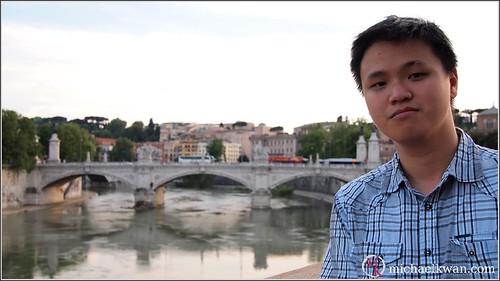 Kwan in Rome