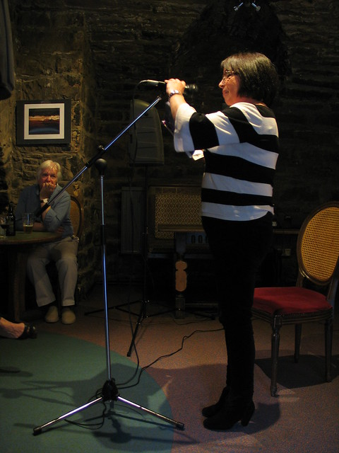 Irene Hossack at Shore Poets June 2013
