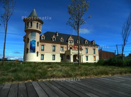 castillo de alcorcon HDR