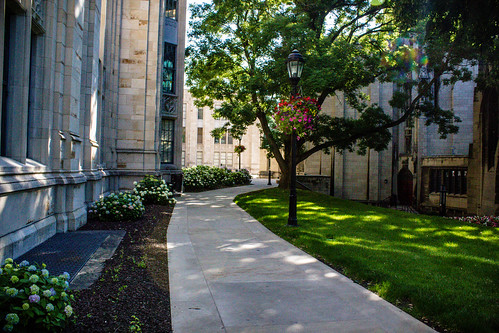 cathedral walkway