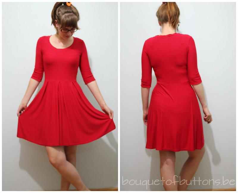 new girl opening credit copycat dress
