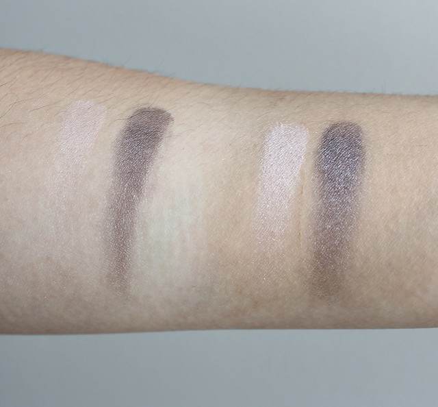 clinique all about eyes swatch and review