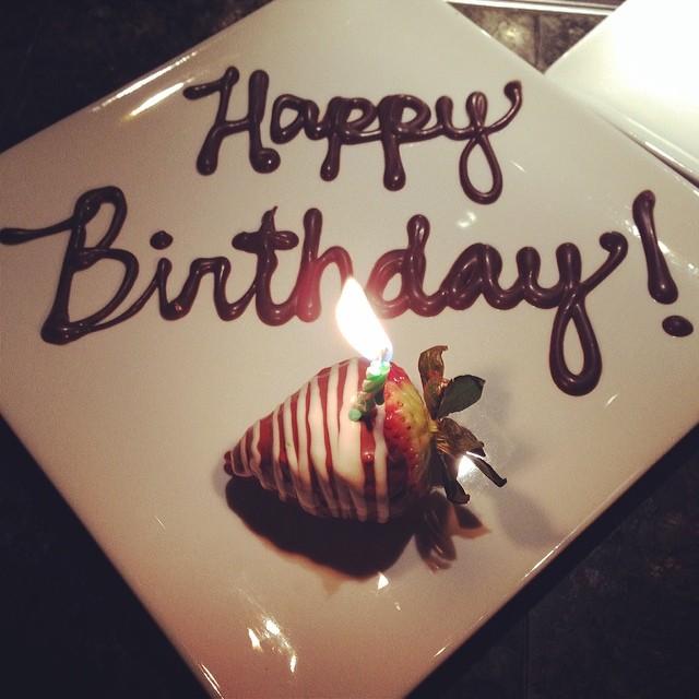 Awww yay! #birthday