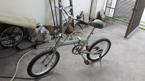 ซื้อจักรยานพับมา 2,800 บาท ไว้ออกกำลังกายช่วงกลางวันของวันหยุด
