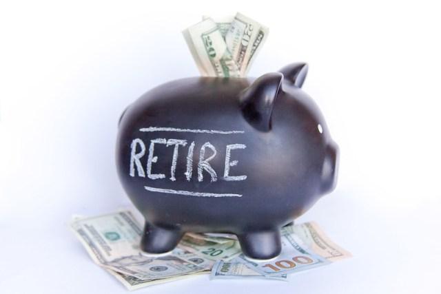 Retire Piggy Bank