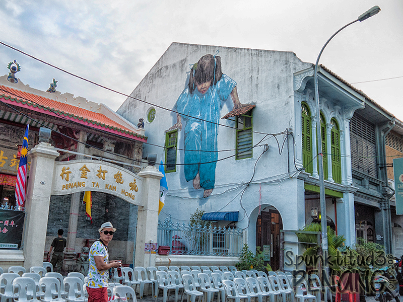 Penang - Street Art in Georgetown