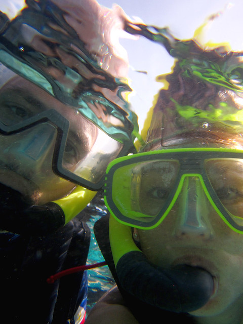 Snorkeling Selfie.