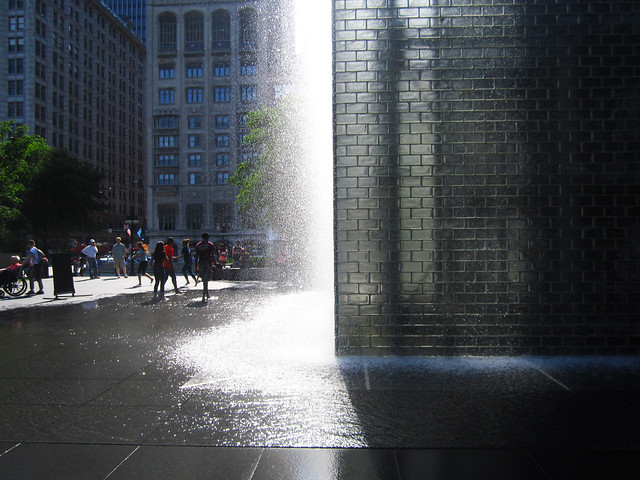Crown Fountain 2