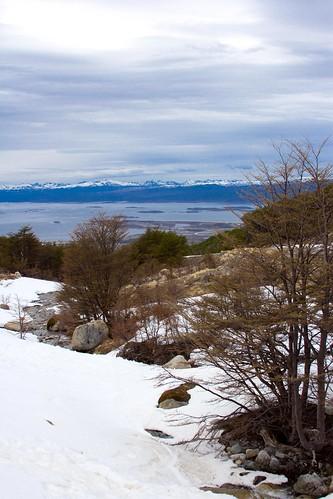 Vistas desde el Glaciar Martial