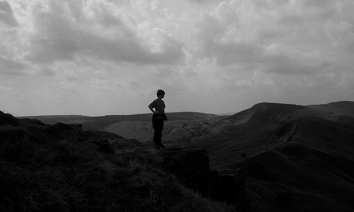 20130808-19_Taking in the view (Back Tor) by gary.hadden