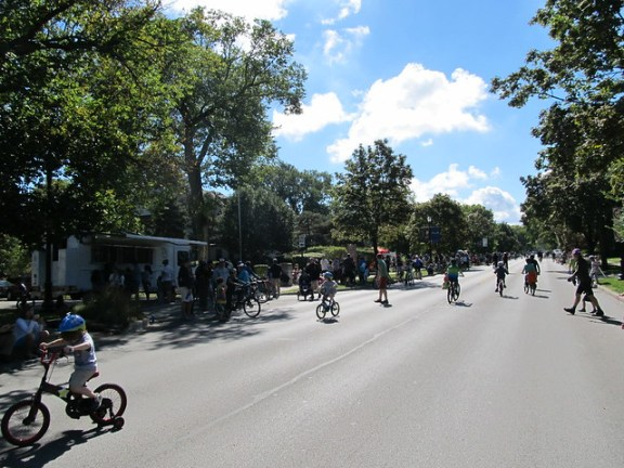 Bike the Ridge in Evanston by Jeff Zoline