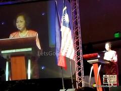 Madam Chong Yoke Har, Tourism Malaysia Deputy Director General (Promotion)