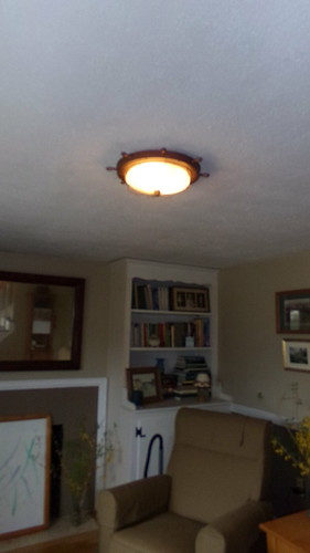 new ceiling light