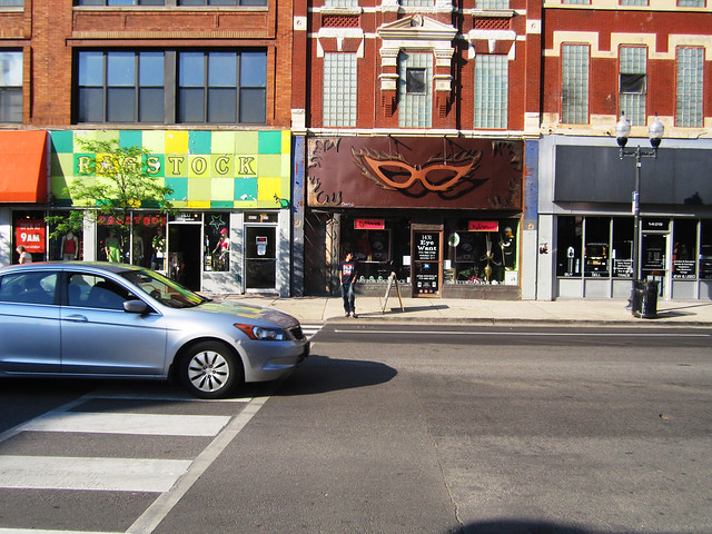 Wicker Park storefronts