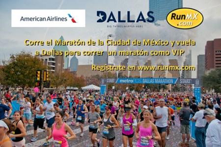 Corre MCM vuela a al Maratón de Dallas