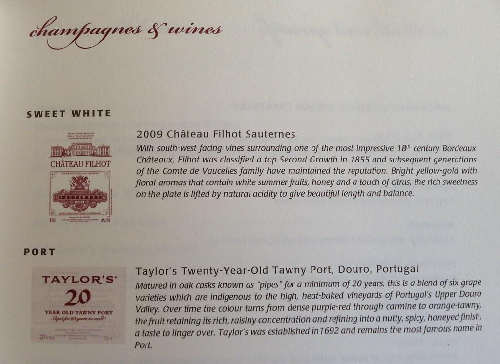 Sweet Wine Selection