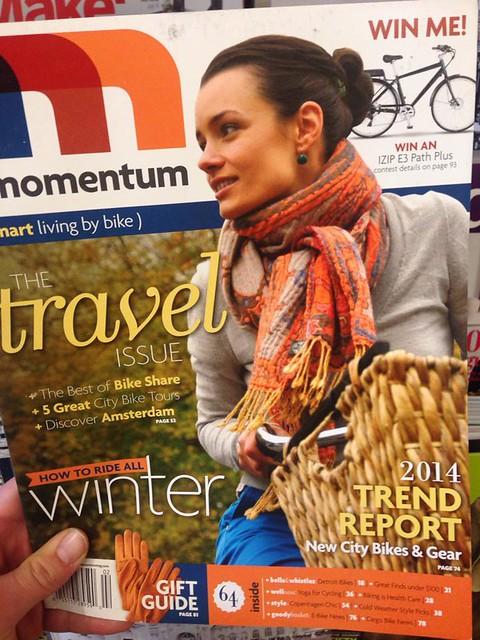 Thank you Momentum Magazine!