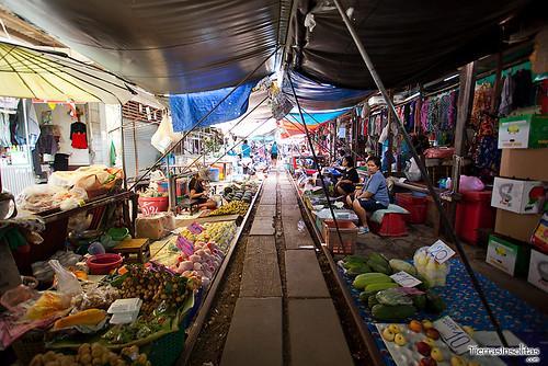 Mercado Mae Klong (Tailandia)