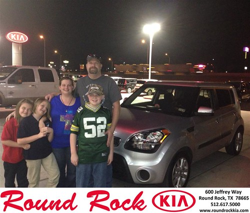 Thank you to Dennis Schuessler on your new 2013 #Kia #Soul from Andi Wilson and everyone at Round Rock Kia! #NewCarSmell by RoundRockKia