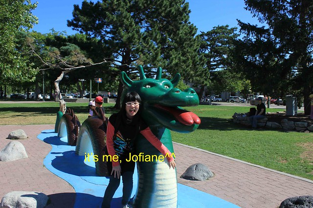 With Ogopogo, it's me Jofiane