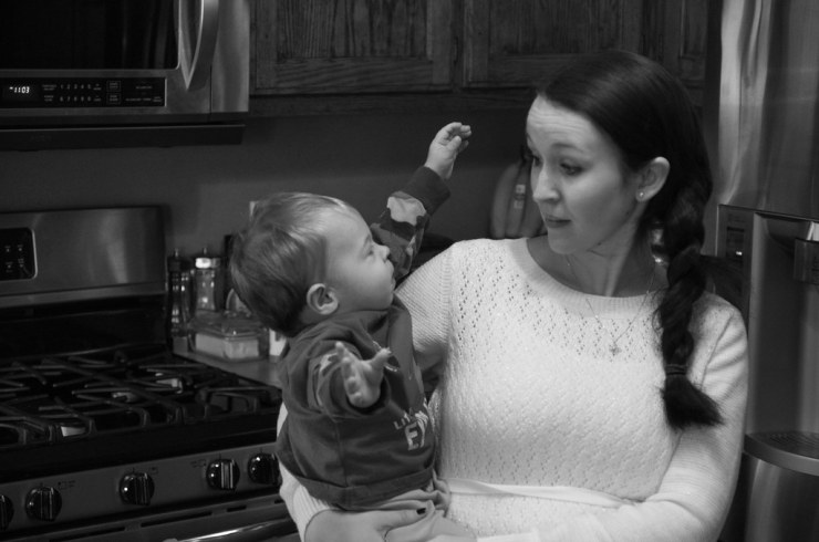 Micah and Mommy