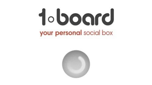 1board - одно приложение для всех социальных сетей Facebook, Twitter, Вконтакте и Foursquare