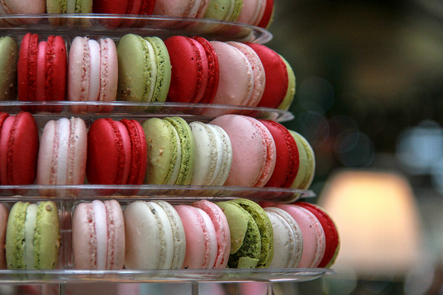 Colorful Tower of Macaroons