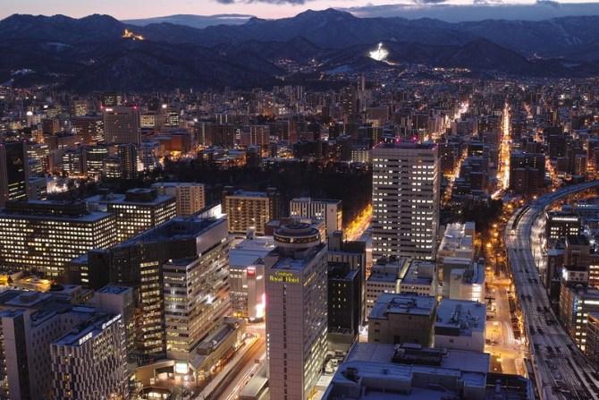Sapporo nightview
